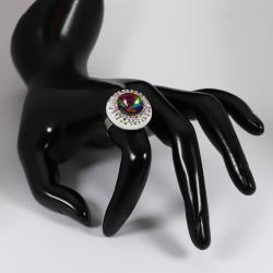 Szivárványos gyűrű