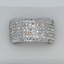 Fehér szépség köves gyűrű