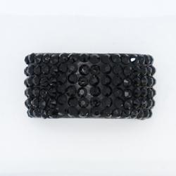 Fekete köves gyűrű